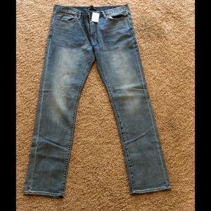 NWT Men'sJ. Crew Flex Slim Jeans- 34/32